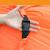 アウトドア怠け者ソファ昼休みベッドビーチ空気ソファキャンプ折り畳み空気寝袋シングルクッションソファ黒相空青【210 Dオックスフォード布】
