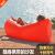 屋外ポータブル空気充填ソファネット紅怠け者空気寝袋エアーブローポケットビーチ昼休みエアパッドシングル灰色耐摩耗強化版収納プラス購入優先出荷