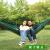 全自動速開蚊帳付きハンモックアウトドア用ナイロン落下傘布キャンプキャンプキャンプ用蚊防止ハンモック寝袋の多くは、「墨緑純色」を使っています。