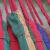 探検家アウトドアハックカジュアルシングルキャンバスダブルハンモック厚手付ロープキャンプブランコ吊り椅子寮大学生レッドシングル