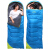 TrackMan観光客の多麗s屋外寝袋成人女性旅行ホテルの汚い日常生活とレジャー室内防湿防寒用寝袋青色1 KG上質中綿