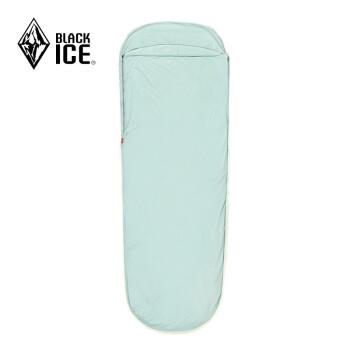 黒氷成人屋外寝袋の内胆ホテルホテルの汚いシーツを隔てたミミ型旅行携帯のウニ水緑