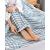寝袋旅行水洗い綿旅行汚い寝袋を置いて携帯出張します。ツインホテル観光ホテル防純綿深青色細条180*210 cm