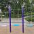 丸太鉄鎖ブランコ防腐木アウトドア子供のために、大人の庭を楽しむために設計されたカラーシートの特恵ピンクの長さ60×20 cm幅の屋外シングルポールのストラップに2本の2メートルめっきをします。